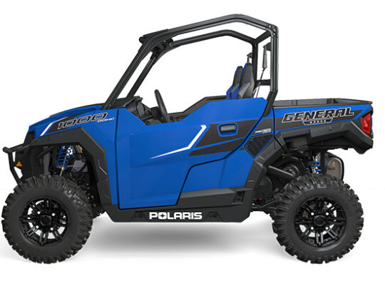 Polaris 2016 General Premium 1000 EPS – Velocity Blue